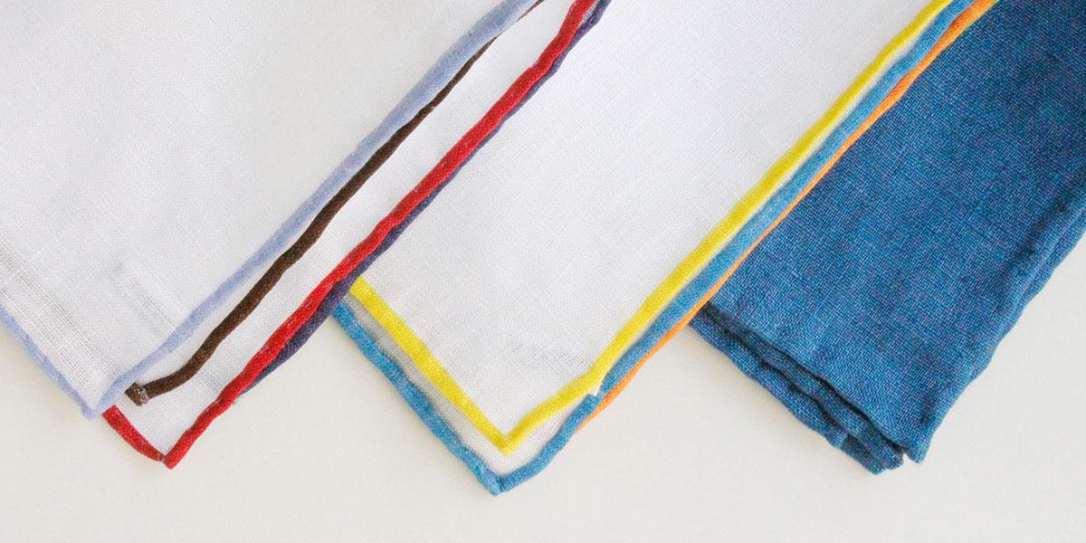 ハンカチ専門店 H TOKYO ポケットチーフ