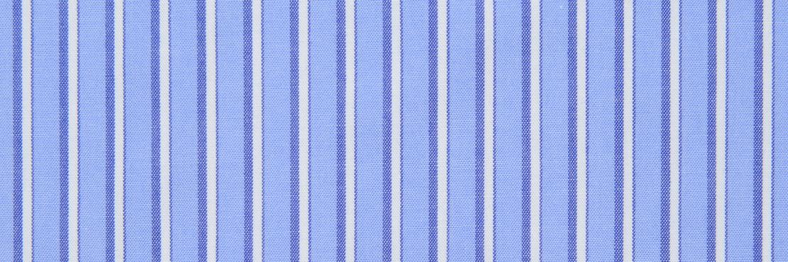鮮やかなラインが目を引くストライプ柄ハンカチ。 さらっと肌触りの良い生地感です。  千鳥縫製。サイズ46×46cm、綿100%、日本製。