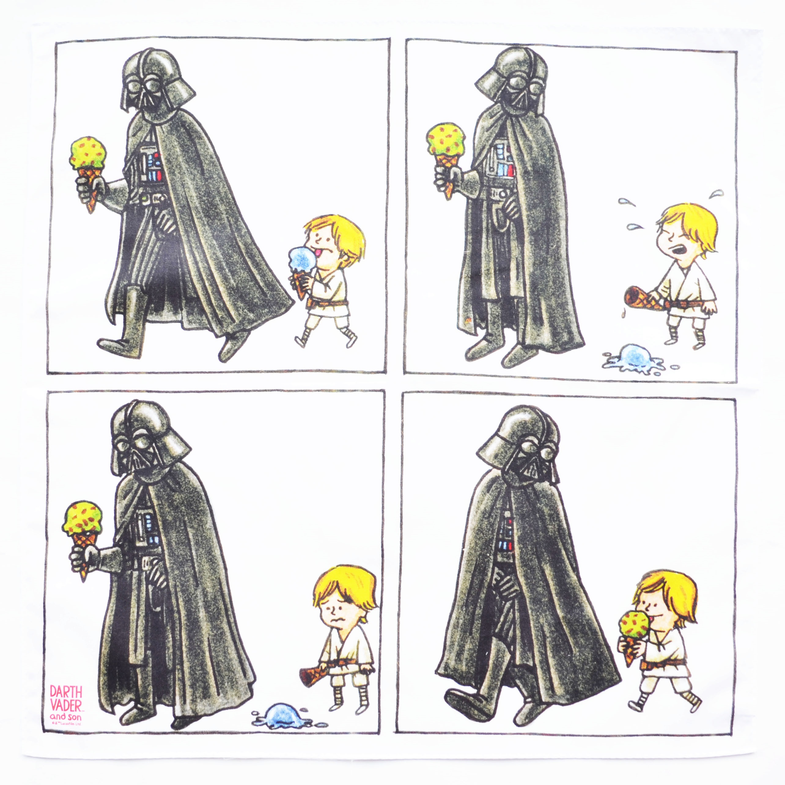 DARTH VADAR AND SONハンカチ3